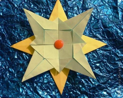 1.Тренеровочный полёт.Моя звезда. Это моя звезда. Она собрана из модулей: 8 шатлов,4 комет, 4 ракет. фото 6