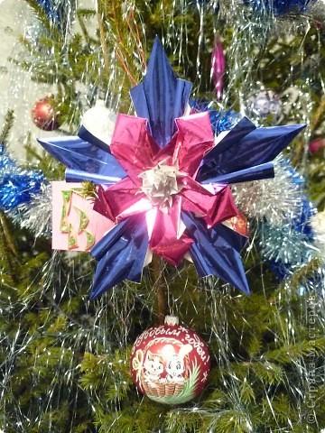 Эта звезда - Рождественская Звезда Исполнения Желаний. Она украшает нашу елочку и исполняет наши желания, стоит только задумать что-то доброе. фото 1