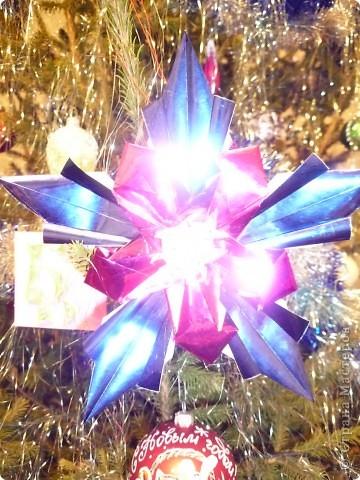 Эта звезда - Рождественская Звезда Исполнения Желаний. Она украшает нашу елочку и исполняет наши желания, стоит только задумать что-то доброе. фото 2