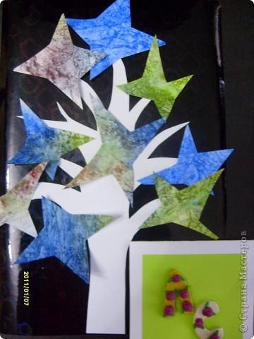 """Тема 1. Моя звезда называется """"Мечта"""". Она волшебная и может исполнять самые заветные желания. Я хотела бы подарить эту звезду тем детям, у которых нет родителей, чтобы она исполняла их желания и они обрели семью. Эту звезду я сделала из 6 модулей """"крылья"""" и 6 модулей """"звездолёт"""". фото 6"""