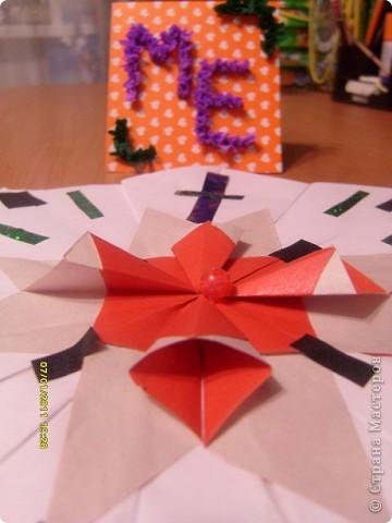 Это моя звёздная карточка(загружаю карточку сейчас, потому что не успела принять участие в первом полёте(((, она выполнена в технике торцевание на пластилине. Это первая моя работа в этой технике, мне очень понравилось делать такие поделки!!! фото 5