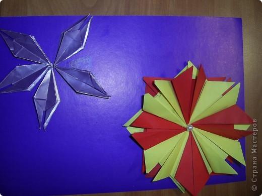Тема 1.   Для звезды двухцветной  использовано 8 модулей Шатл, для звезды в одном цвете - 5 модулей Ракета фото 1