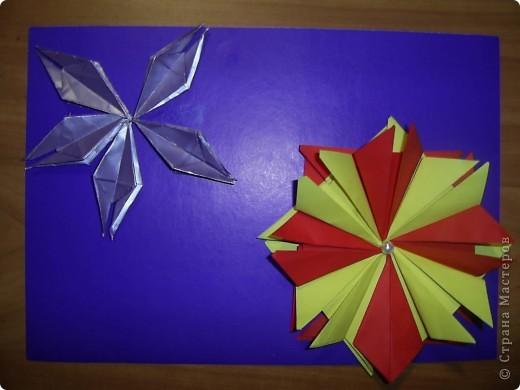 Тема 1.   Для звезды двухцветной  использовано 8 модулей Шатл, для звезды в одном цвете - 5 модулей Ракета фото 2
