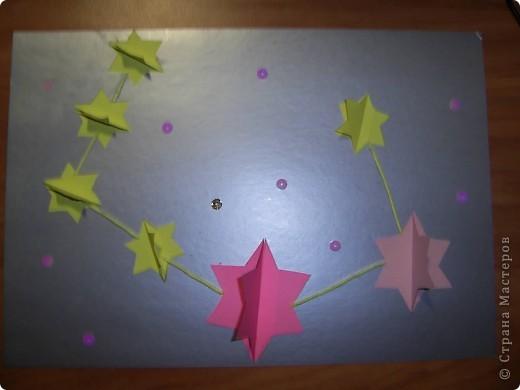 Тема 1.   Для звезды двухцветной  использовано 8 модулей Шатл, для звезды в одном цвете - 5 модулей Ракета фото 4