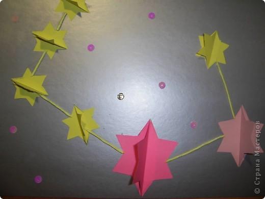 Тема 1.   Для звезды двухцветной  использовано 8 модулей Шатл, для звезды в одном цвете - 5 модулей Ракета фото 5