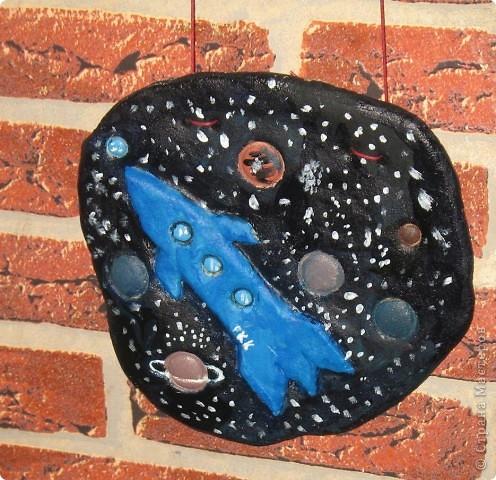 """СКА """"Небусиз"""" в полёте СКА - это спасательный космический аппарат. Эта тарелка летает вокруг Земли и спасает тех, кто попал в беду фото 7"""