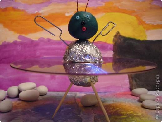 """На сказочной Радужной планете.На своей летающей тарелке """"Марс 1"""" фото 4"""