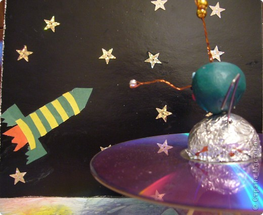 """На сказочной Радужной планете.На своей летающей тарелке """"Марс 1"""" фото 5"""