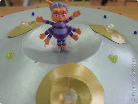 Третий звездный  полет мастеров. Я, Авакимова Вика, создала свой космический аппарат и готова к следующим заданиям! фото 3