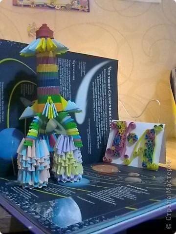 """Моя Ракета-носитель """"Северное сияние""""создана для полета в космос, чтобы узнать правду о северном сиянии! фото 1"""