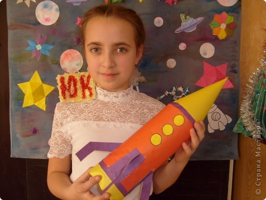 Ракета из бутылки своими руками фото