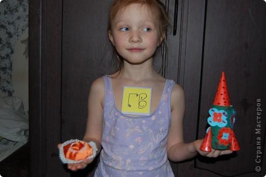 ракета-цветочная и летающая тарелка рыжик фото 1