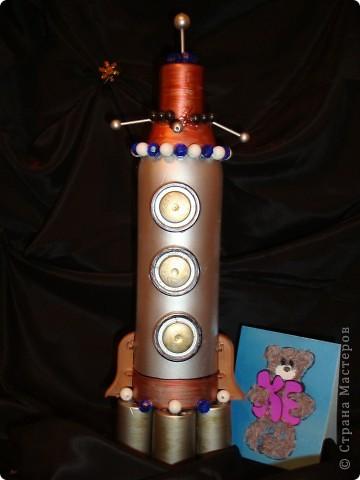 Моя ракета для межпланетных и межгалактических перелетов фото 1