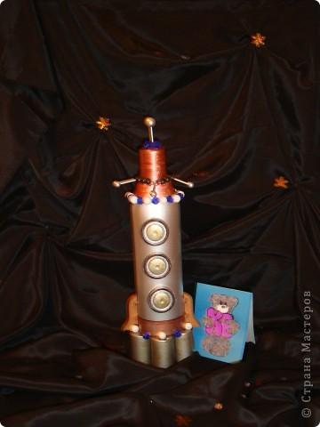 Моя ракета для межпланетных и межгалактических перелетов фото 2