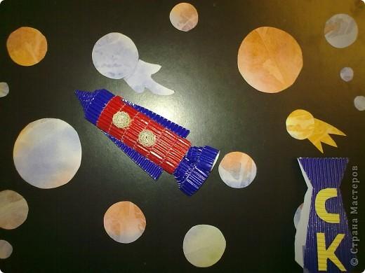 Моя ракета из гофрированного картона. фото 1
