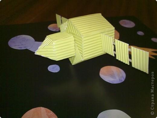 Моя ракета из гофрированного картона. фото 2
