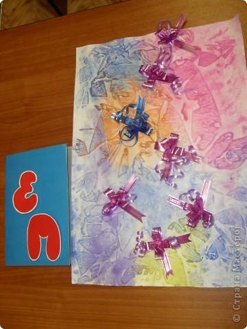 Ракетная установка. Материал: Ватман, картон, подарочная обёртка, сетка для цветов фото 7