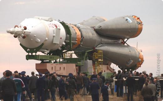 "Вот мой ракета - носитель ""Союз"". фото 2"