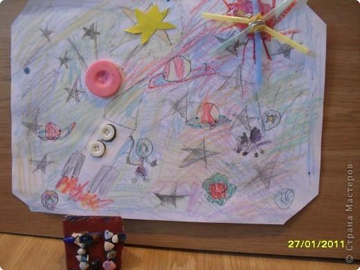 """Ракету я сделала из гофротрубочек. Я ее назвала - """"Буран"""". Он полетит на планету - Уран. фото 4"""