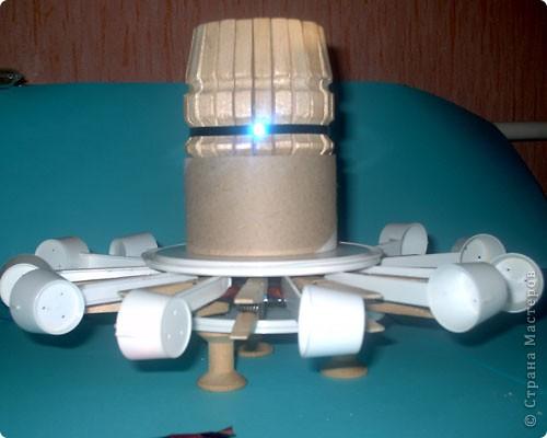 1. фантастический летательный аппарат СКМ - собиратель космического мусора.  фото 2