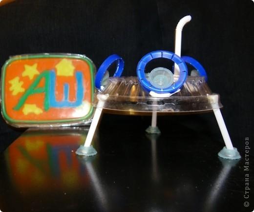 летающая тарелка, для путешествий по галактике. с прозрачным корпусом для лучшего обзора. фото 2