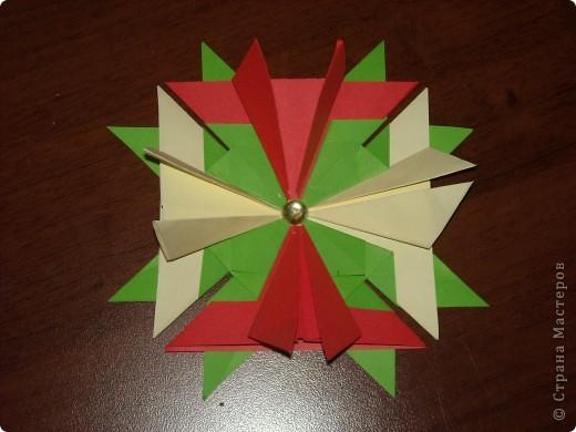 Это моя звездная карточка и аппликация из бумаги. фото 2