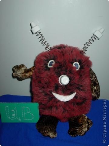 Это мой друг Пушистик с планеты Головоногов! Он очень веселый и действительно пушистый! фото 1