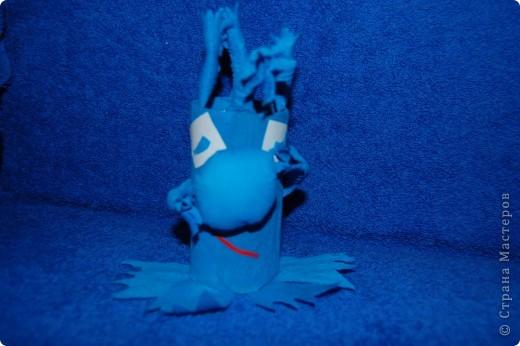 Житель Водной планеты Голубчик с букетом подводных цветов фото 2