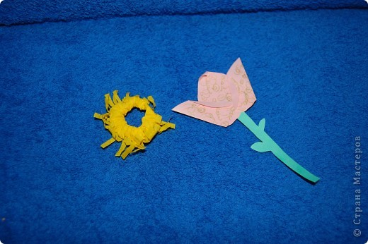 Житель Водной планеты Голубчик с букетом подводных цветов фото 3