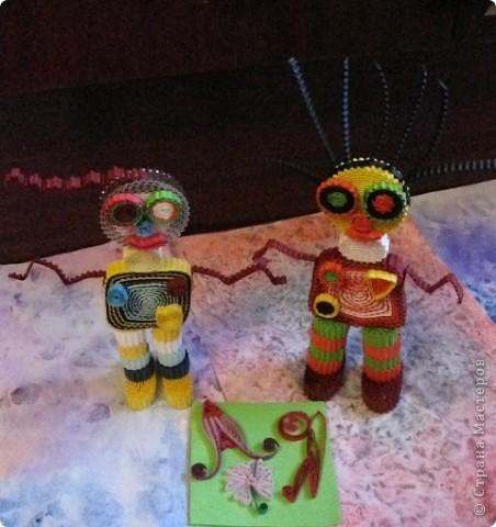 Космические  друзья.  Маринуша  и  Трамотен. фото 1