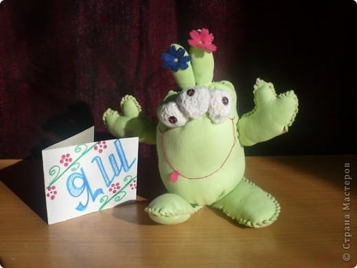 Это инопланетянин Дубовик. У Дубовика я научилась выращивать деревья. фото 2