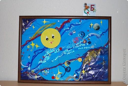 Таким я вижу Космос - в постоянном движении планет, Галактик, звезд. Движение - это жизнь на каждой маленькой Вселенной. фото 1