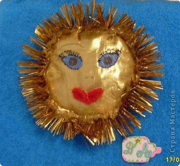 Задание2. Мастерим Солнце. Солнышко из ткани. Подушечка. фото 1