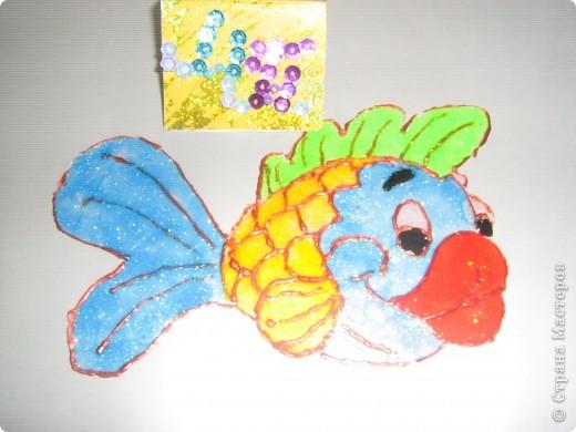 Это моё солнышко оно очень доброе и ласковое. Я нарисовала его витаржными красками. фото 6