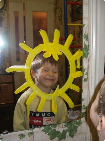 Это я мамино солнышко (я рисовал лучики) фото 2