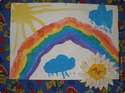 Это я мамино солнышко (я рисовал лучики) фото 4