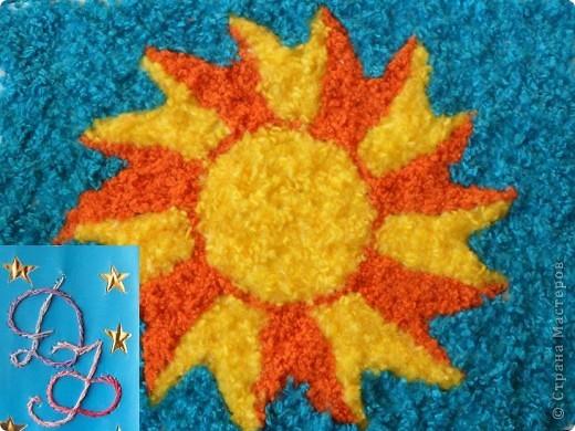 Хорошо, когда на синем небе такое теплое солнышко! фото 1