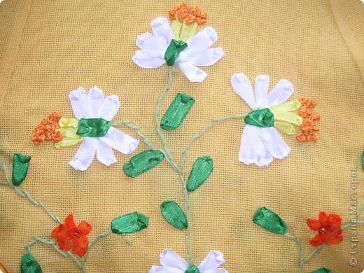 """Комплект сарафан и украшения""""Весенние цветы"""" фото 4"""