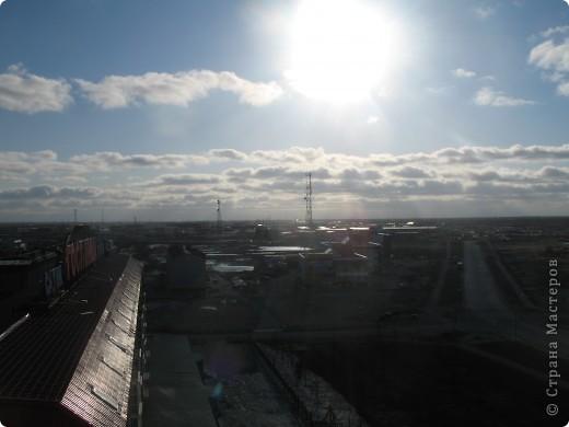 Такое солнечное небо получилось у нас... фото 3