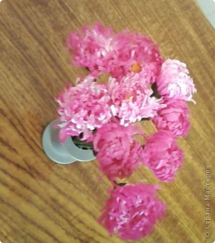 Маргаритки, фотография наиболее близко отражает цветовую гамму цветов из ткани фото 1