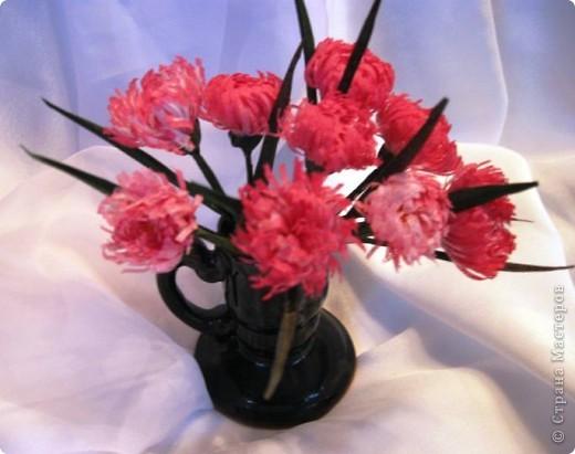 Маргаритки, фотография наиболее близко отражает цветовую гамму цветов из ткани фото 2