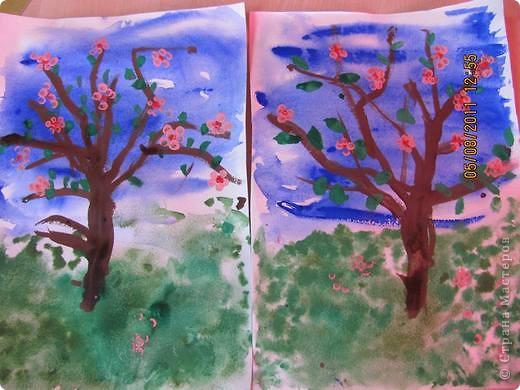Деревья в цвету фото 1