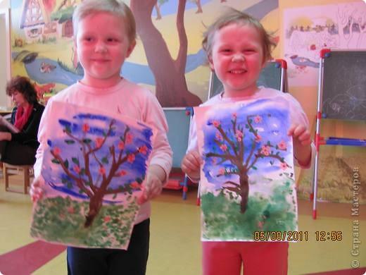 Деревья в цвету фото 2
