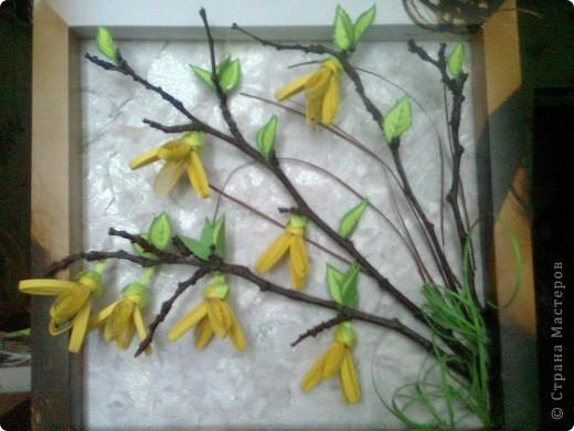 Давно хотелось сделать цветы этого кустарника. фото 1