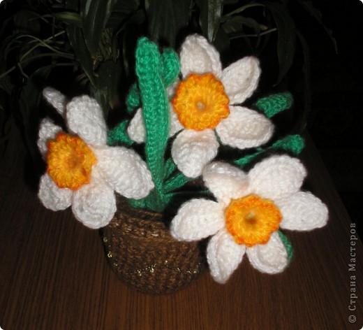 Одуванчик (вязание крючком). фото 5