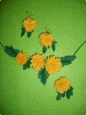 День рождения Одуванчика - это праздник Весны, солнца и тепла! А ещё - создания настоящих весенних украшений! фото 1