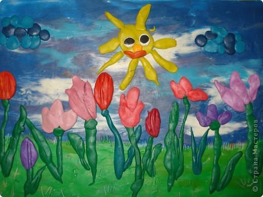 Весной распускаются  тюльпаны! фото 1