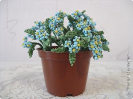 Тюльпаны из бисера фото 5