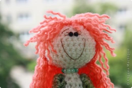 куколка Солинка - мой вязаный рыжик фото 3