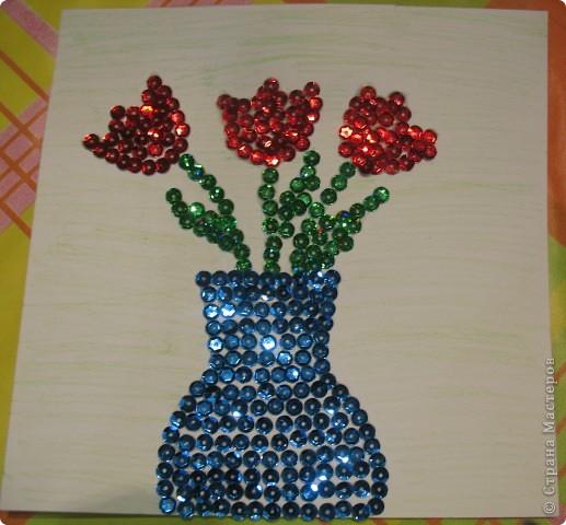 Вот такой тюльпан получился у меня из гофрированной бумаги мо МК Татьяны Просняковой http://stranamasterov.ru/technics/flowers22-23.html. Татьяна Николаевна,спасибо за МК. фото 3